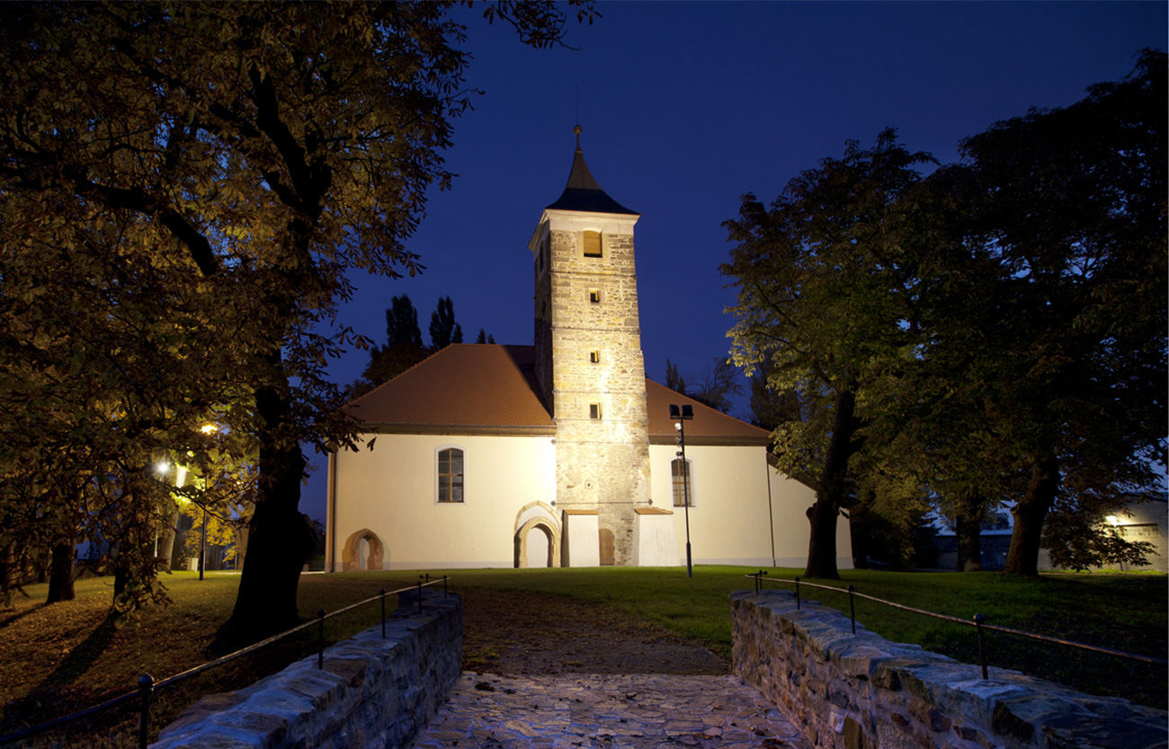 kostel – Spořice