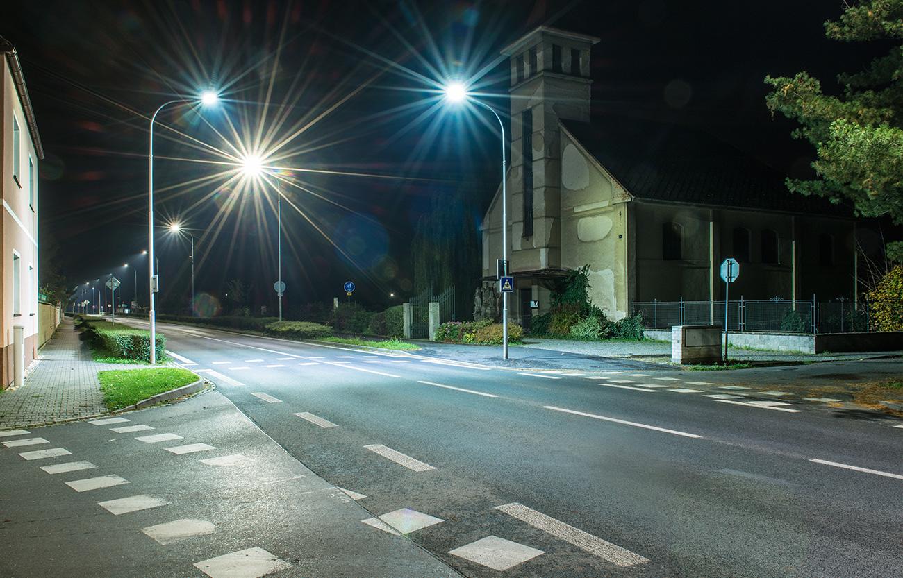 veřejné osvětlení – Velký Osek